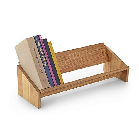 Desktop Bookcase by Desktop Book Shelf Made Of Oak Manufactum