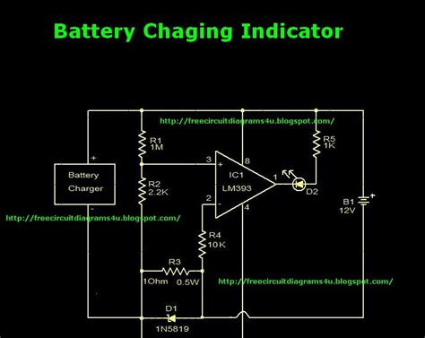 wiring schematic diagram guide battery charger indicator