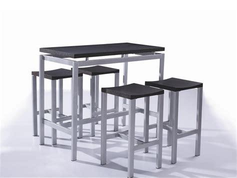 table et chaise de bar pas cher cuisine en image