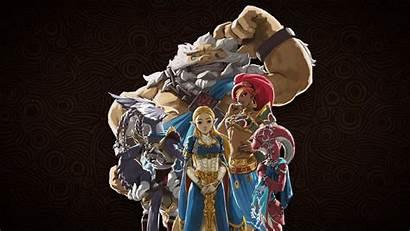 Champions Ballad Zelda Dlc Breath Wild Legend