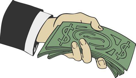 clipart money transparent handing money clip rr collections