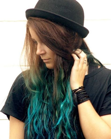 20 Teal Blue Hair Color Ideas For Black And Bown Hair