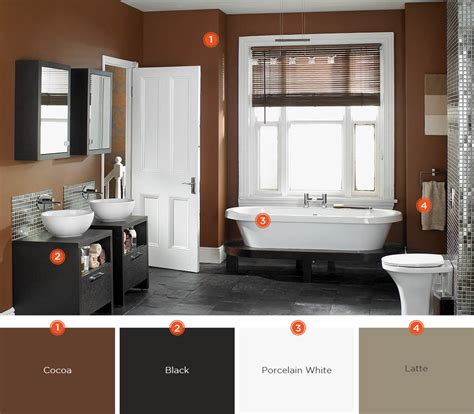 Spa Bathroom Color Schemes by 20 Relaxing Bathroom Color Schemes Shutterfly