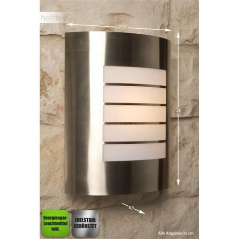 massive philips oslo outdoor wall light stainless steel