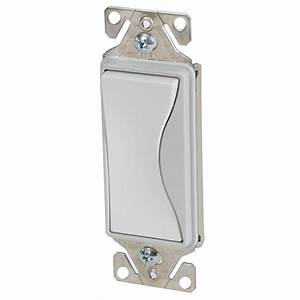Single Pole Decorator Wall Switch  7501  By Cooper Wiring