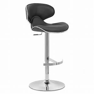 Chaise De Bar : chaise de bar cuir chrome f lix deluxe monde du tabouret ~ Farleysfitness.com Idées de Décoration