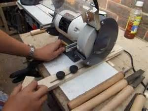 Lawn Mower Work Bench by How To Build Sharpening Jig For The Bench Grinder