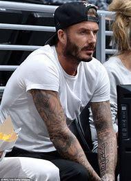 David Beckham Daughter Tattoo