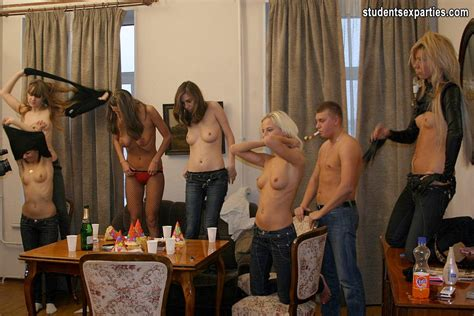 Drunk Russian College Sex Party Student Sex