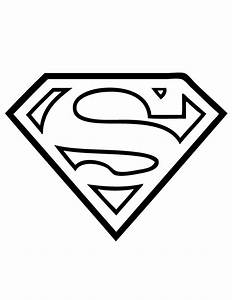 Superman Logo flock flockfolie Coloring Page kleurplaat ...