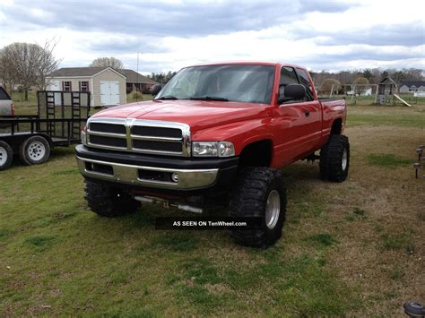Dodge 4x4 by 1998 Dodge Ram 1500 4x4 Lifted