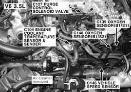 Hyundai Santa Fe Questions - Location Of O2 Sencers