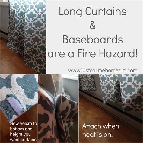 No More Fire Hazard Curtains!   Just Call Me Homegirl