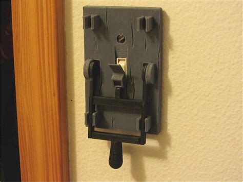 Frankenstein Light Switch Plate   The Awesomer