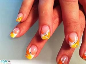 Ongles Pinterest : d coration ongles jaune nail art pinterest ongles jaunes d corations ongles et ongles ~ Dode.kayakingforconservation.com Idées de Décoration
