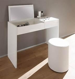 Coiffeuse Blanche Ikea : coiffeuse ponte blanc laque ~ Teatrodelosmanantiales.com Idées de Décoration