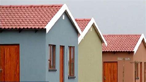 gauteng residents  guaranteed subsidised housing