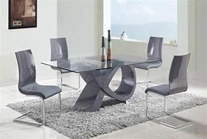 80 idees pour bien choisir la table a manger design for Table de salle a manger design avec rallonge