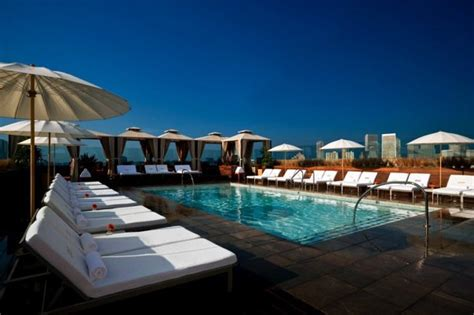 best hotel pools in la these pools are an art form photos huffpost