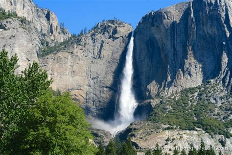 Yosemite National Park Guide Hikes Waterfalls View