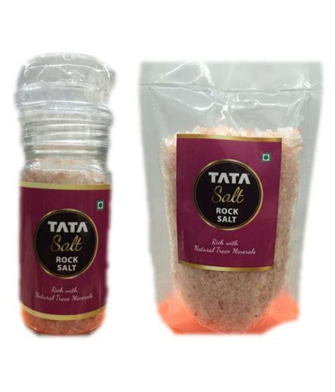 mineral salt vs table salt tata salt rock salt 100 gm pack of 2 buy tata salt rock