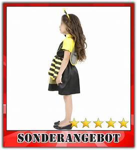 Kostüm Biene Kind : biene kost m kinder bienenkost m maja kinderkost m hummel m dchen gelb s 128 cm ebay ~ Frokenaadalensverden.com Haus und Dekorationen