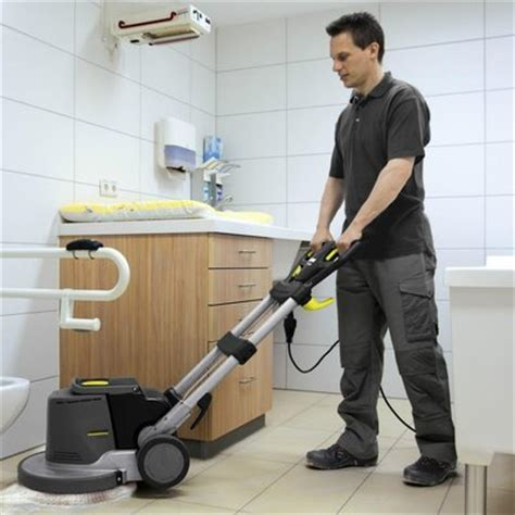 karcher floor scrubber polisher 330mm single disc hire