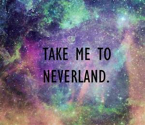 """""""Take me to Neverland."""" Background. 