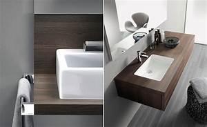Waschtische Für Badezimmer : waschtisch mit aufgesetztem waschbecken uk18 hitoiro ~ Michelbontemps.com Haus und Dekorationen