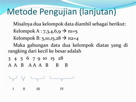 Mata Kuliah Statistik Non- Parametrik Powerpoint