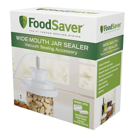 amazoncom foodsaver   p wide mouth jar sealer food saver mason jar sealer kitchen