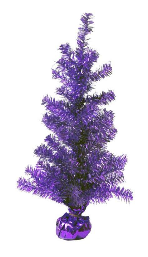 4 ft 48 quot tall purple tinsel christmas tree ebay