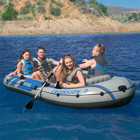 Boat Rafting by 4 Persons Genuine Drifters Four Boat Rafting Boat