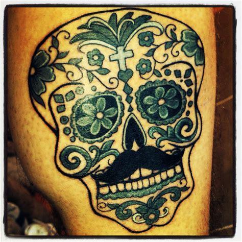 Tete De Mort Mexicaine Tatouage Tatouage T 234 Te De Mort Mexicain By Mekapoptatoo T 234 Te De Mort