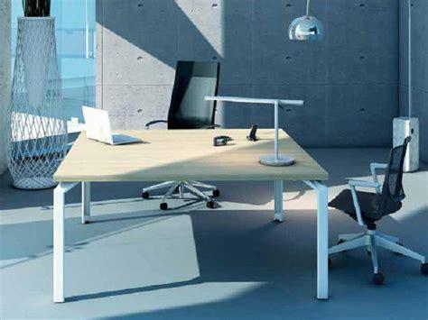 bureau carré collection epure par design mobilier bureau design