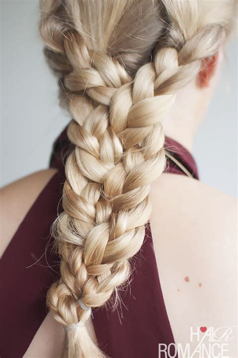 triple braided hairstyle 183 how to style a braid plait