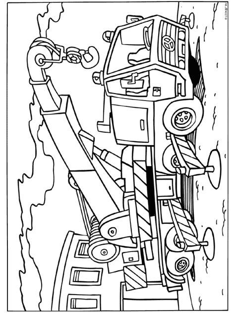 Kleurplaat Bob De Bouwer Mega Machines by Kleurplaat Takelwagen Bouwen Bouw Thema Kleurplaten