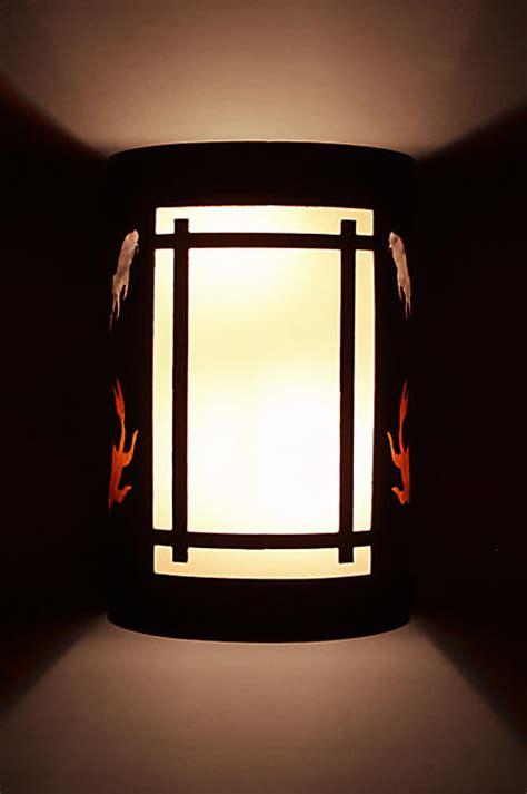 japanese style lighting kumano series wall sconces