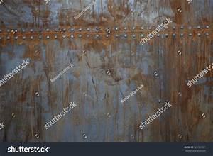 Texture Rusty Metal Rivets Stock Photo 521367001 ...