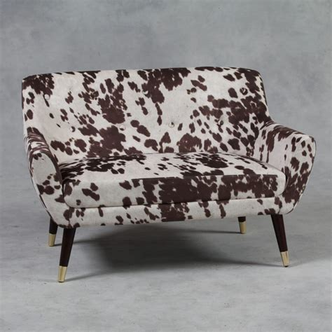 Cowhide Leather Sofa by Cowhide Sofa