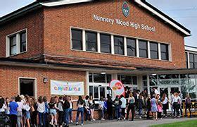nunnery wood high school aspire strive achieve