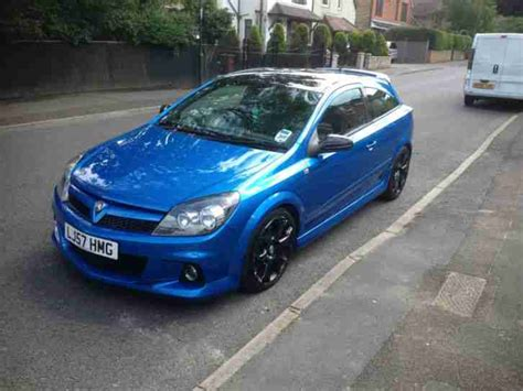 vauxhall astra vxr 2007 2007 vauxhall astra vxr blue car for sale