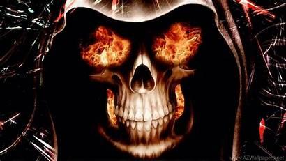 Wallpapers Skulls Skull Fire
