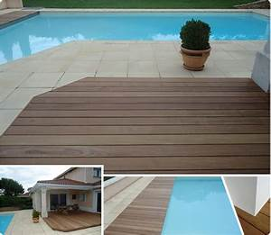 terrasse bois et carrelage piscine idees sur les parcs With carrelage plage piscine gris 11 terrasse bois entourage piscine nos conseils
