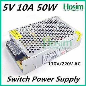 5v 10a 50w Mini Size Led Switching Power Supply
