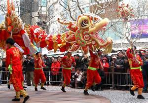 Chinese Dragon Dance Culture