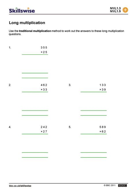 extended multiplication facts worksheets the best