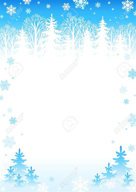 Border Snowflake Background Clipart by Free Snow Clipart Borders Png And Cliparts For Free