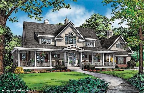 House Plan The Cresthill By Donald A. Gardner Architects