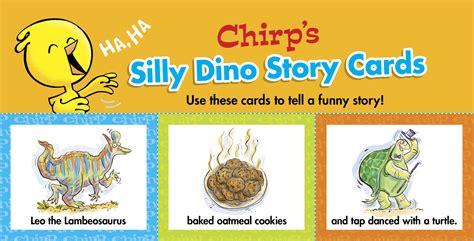 Owlkids Chirp Dinosaur Story Cards Owlkids